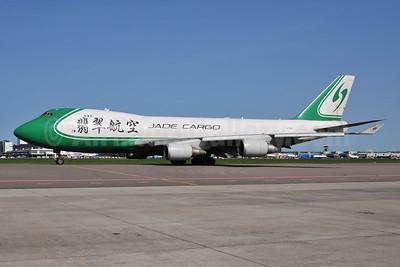 Jade Cargo International Boeing 747-4EV ERF B-2421 (msn 35169) AMS (Ton Jochems). Image: 953261.