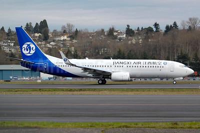 Jiangxi Air Boeing 737-800 WL B-1558 (msn 42935) BFI (Joe G. Walker). Image: 936425.