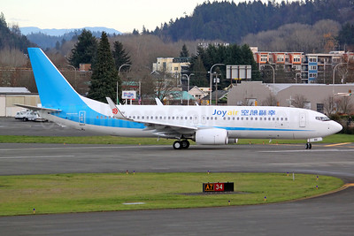 The first Boeing 737 for Joy Air