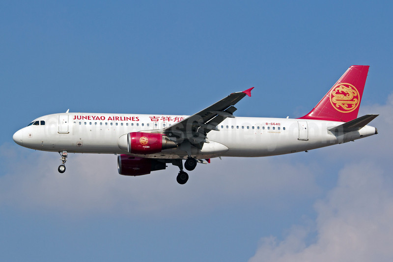 Juneyao Airlines Airbus A320-214 B-6640 (msn 4064) SHA (Yuji Wang). Image: 920490.