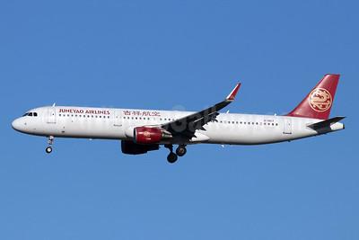 Juneyao Airlines Airbus A321-211 WL B-1857 (msn 6172) TSN (Michael B. Ing). Image: 947998.
