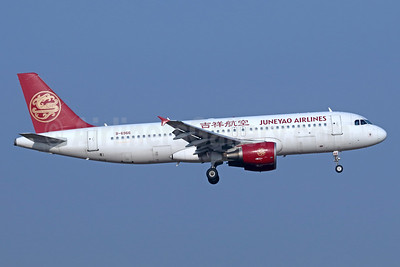 Juneyao Airlines Airbus A320-214 B-6966 (msn 5131) TSN (Michael B. Ing). Image: 939399.