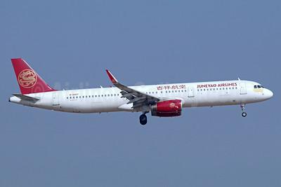 Juneyao Airlines Airbus A321-211 WL B-8407 (msn 6916) TSN (Michael B. Ing). Image: 939383.