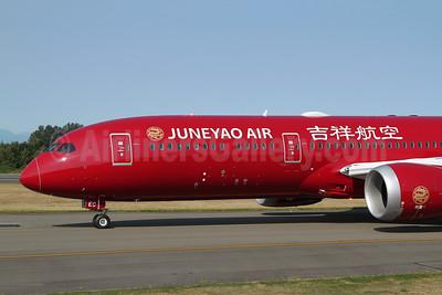 Juneyao Air Boeing 787-9 Dreamliner N1015B (B-20EC) (msn 65430) PAE (Nick Dean). Image: 951173.