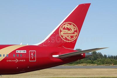 Juneyao Air Boeing 787-9 Dreamliner N1015B (B-20EC) (msn 65430) PAE (Nick Dean). Image: 951174.