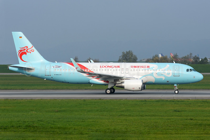 Loongair (Zheijiang Loong Airlines) Airbus A320-214 WL D-AUBP (B-8895) (msn 7916) XFW (Gerd Beilfuss). Image: 939632.