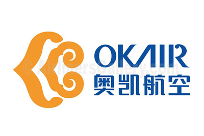1. OKAir - Okay Airways logo