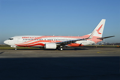 Ruili Airlines Boeing 737-86J WL D-ABMX (B-1960) (msn 37786) AMS (Ton Jochems). Image: 922098.