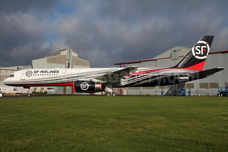 SF Airlines 757-200F G-FCLA (09)(Grd) QLA (Ian Bowley). Image: 927625.