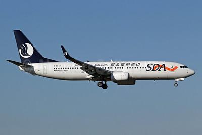 Shandong Airlines-SDA Boeing 737-8FH WL B-5542 (msn 40883) PEK (Michael B. Ing). Image: 905602.