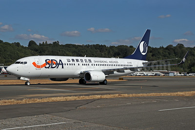 Shandong Airlines-SDA Boeing 737-800 WL B-1442 (msn 61437) BFI (James Helbock). Image: 939074.