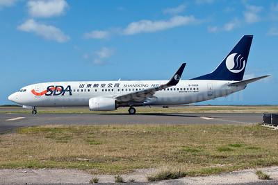 Shandong Airlines-SDA Boeing 737-85N WL B-5628 (msn 39125) HNL (Ivan K. Nishimura). Image: 908023.