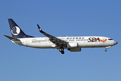 Shandong Airlines-SDA Boeing 737-86N WL B-5561 (msn 38016) PEK (Michael B. Ing). Image: 913265.