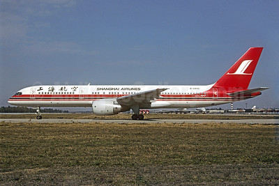 Shanghai Airlines Boeing 757-26D B-2842 (msn 27342) PEK (Christian Volpati Collection). Image: 920687.