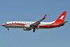 Shanghai Airlines Boeing 737-86D WL B-5395 (msn 35770) PEK (Robbie Shaw). Image: 939633.