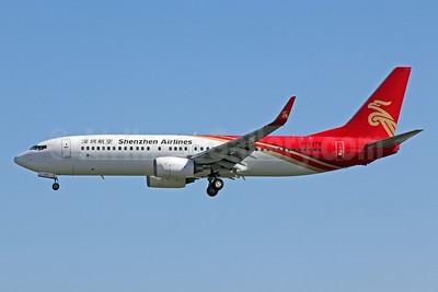 Shenzhen Airlines Boeing 737-8AL WL B-5379 (msn 35087) PEK (Michael B. Ing). Image: 906549.