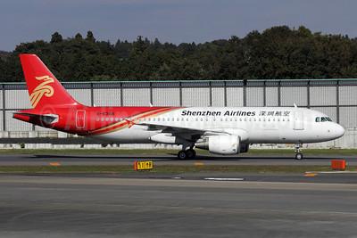 Shenzhen Airlines Airbus A320-214 B-6358 (msn 3435) NRT (Michael B. Ing). Image: 909997.