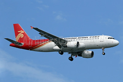 Shenzhen Airlines Airbus A320-214 B-9908 (msn 5369) SIN (Pascal Simon). Image: 939357.