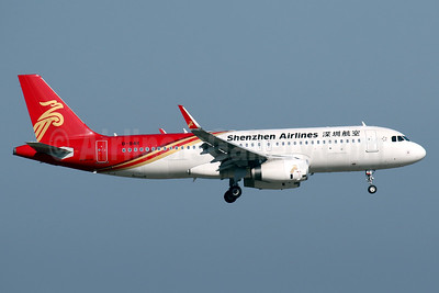 Shenzhen Airlines Airbus A320-214 WL B-8411 (msn 7075) HKG (Javier Rodriguez). Image: 939358.