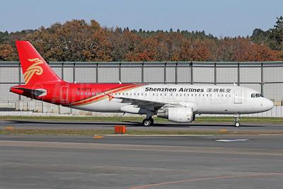 Shenzhen Airlines Airbus A320-214 B-6377 (msn 3599) NRT (Michael B. Ing). Image: 909999.