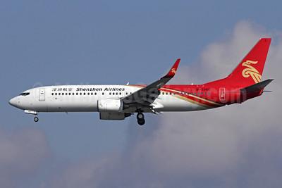 Shenzhen Airlines Boeing 737-87L WL B-5380 (msn 35527) NRT (Michael B. Ing). Image: 908845.