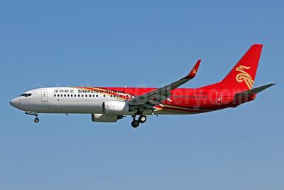 Shenzhen Airlines Boeing 737-87L WL B-5441 (msn 35536) PEK (Michael B. Ing). Image: 905684.
