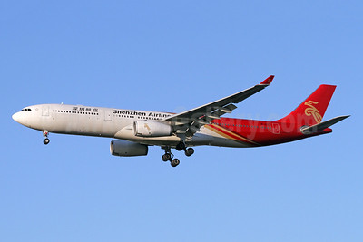 Shenzhen Airlines Airbus A330-343 B-1072 (msn 1867) LHR (SPA). Image: 947982.