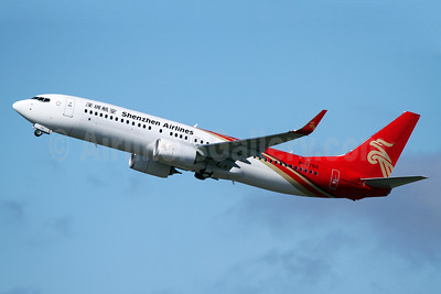 Shenzhen Airlines Boeing 737-87L WL B-7750 (msn 61120) PAE (Nick Dean). Image: 934936.