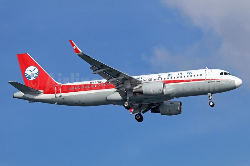 Sichuan Airlines Airbus A320-214 WL B-8330 (msn 6732) SIN (Michael B. Ing). Image: 935779.