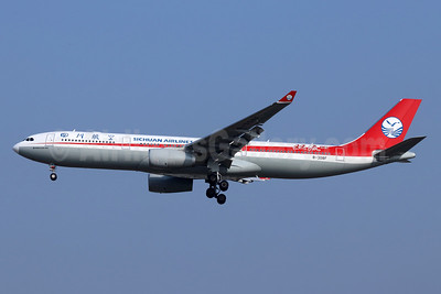 Sichuan Airlines Airbus A330-343 B-308F (msn 1912) PEK (Michael B. Ing). Image: 948308.