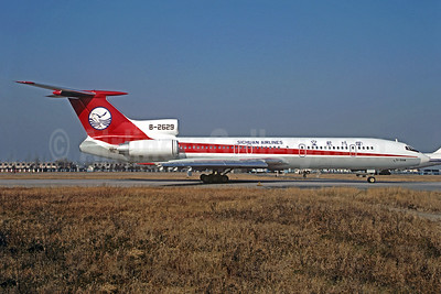 Sichuan Airlines Tupolev Tu-154M B-2629 (msn 92A919) PEK (Christian Volpati Collection). Image: 935784.