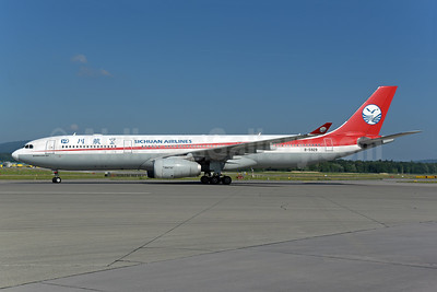 Sichuan Airlines Airbus A330-343 B-5929 (msn 432) ZRH (Rolf Wallner). Image: 942560.