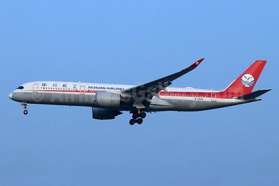Sichuan Airlines Airbus A350-941 B-304U (msn 052) PEK (Michael B. Ing). Image: 948399.