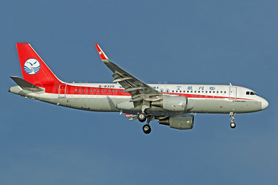 Sichuan Airlines Airbus A320-214 WL B-8325 (msn 6710) SIN (Pascal Simon). Image: 939184.