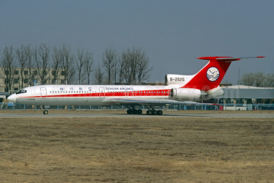 Sichuan Airlines Tupolev Tu-154M B-2625 (msn 91A893) PEK (Christian Volpati Collection). Image: 935783.
