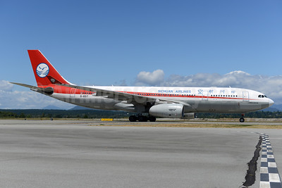 Sichuan Airlines Airbus A330-243 B-6517 (msn 1138) YVR (Ton Jochems). Image: 933279.