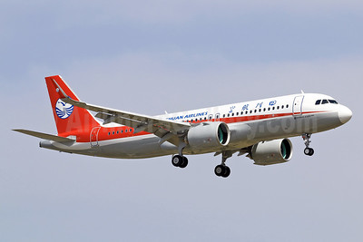 First flight for the first Airbus A320neo for Sichuan Airlines