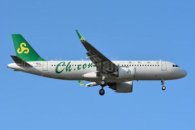 Spring Airlines (Ch.com) Airbus A320-251N WL F-WWDG (B-30AR) (msn 9239) TLS (Paul Bannwarth). Image: 947953.
