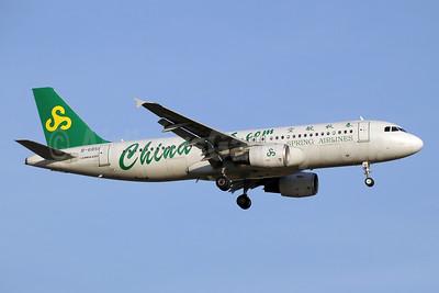Spring Airlines (China-sss.com) Airbus A320-214 B-6851 (msn 4909) BKK (Paul Denton). Image: 934687.