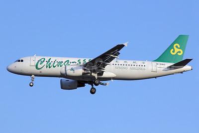 Spring Airlines (China-sss.com) Airbus A320-214 B-6841 (msn 4816) BKK (Michael B. Ing). Image: 910623.
