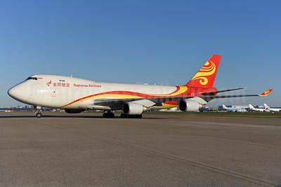 Suparna Airlines Boeing 747-4HAF ER B-1340 (msn 35235) AMS (Ton Jochems). Image: 940514.
