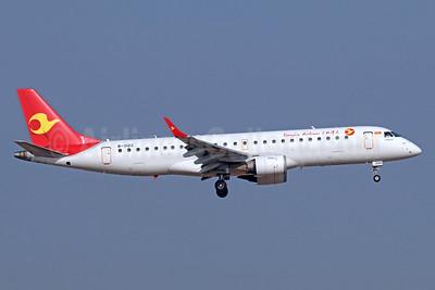 Tianjin Airlines Embraer ERJ 190-100LR B-3123 (msn 19000192) TSN (Michael B. Ing). Image: 939391.