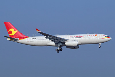 Tianjin Airlines Airbus A330-243 B-8596 (msn 1805) TSN (Michael B. Ing). Image: 939368.