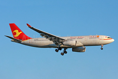 Tianjin Airlines Airbus A330-243 B-8959 (msn 1773) LHR (SPA). Image: 943796.