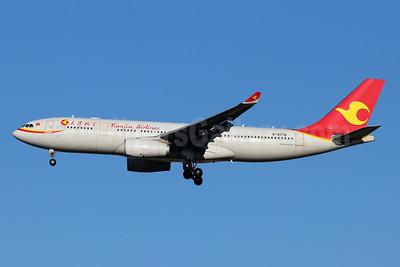 Tianjin Airlines Airbus A330-243 B-8776 (msn 1756) TSN (Michael B. Ing). Image: 947999.