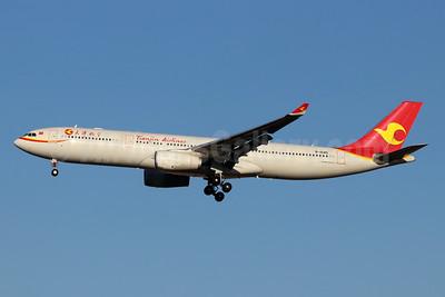 Tianjin Airlines Airbus A330-343 B-1045 (msn 1840) TSN (Michael B. Ing). Image: 947991.