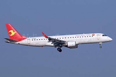 Tianjin Airlines Embraer ERJ 190-100LR B-3212 (msn 19000567) TSN (Michael B. Ing). Image: 939394.