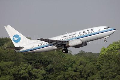 Xiamen Airlines Boeing 737-75C WL B-2992 (msn 29086) SIN (Bailey). Image: 931433.