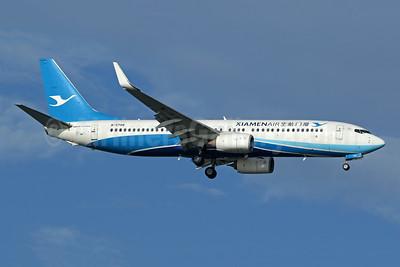 Xiamen Air Boeing 737-85C WL B-5708 (msn 38403) SIN (Pascal Simon). Image: 940566.