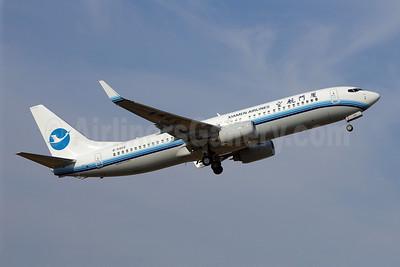 Xiamen Airlines Boeing 737-85C WL B-5459 (msn 35057) BFI (Joe G. Walker). Image: 903412.